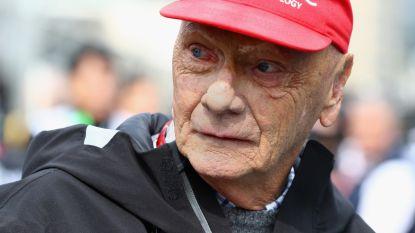 Niki Lauda ligt met griep uit voorzorg op intensieve zorgen