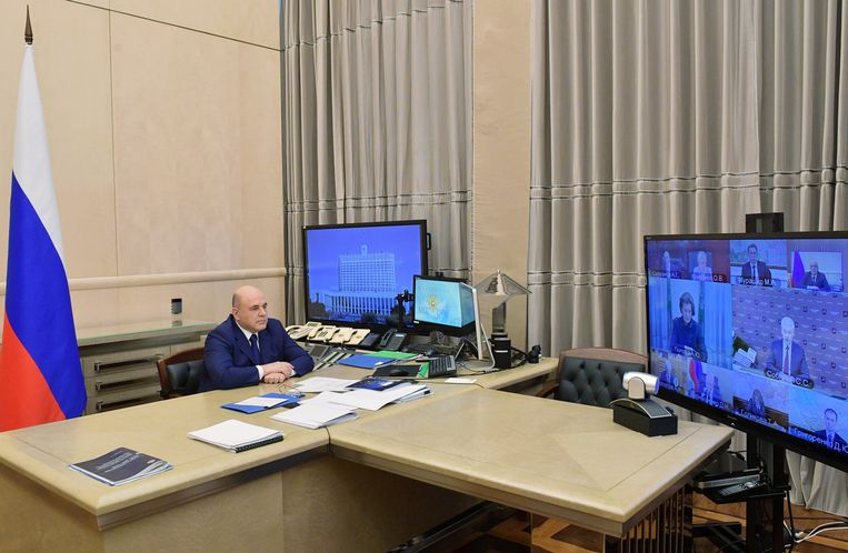 De Russische minister van Volksgezondheid Mikhail Murashko.