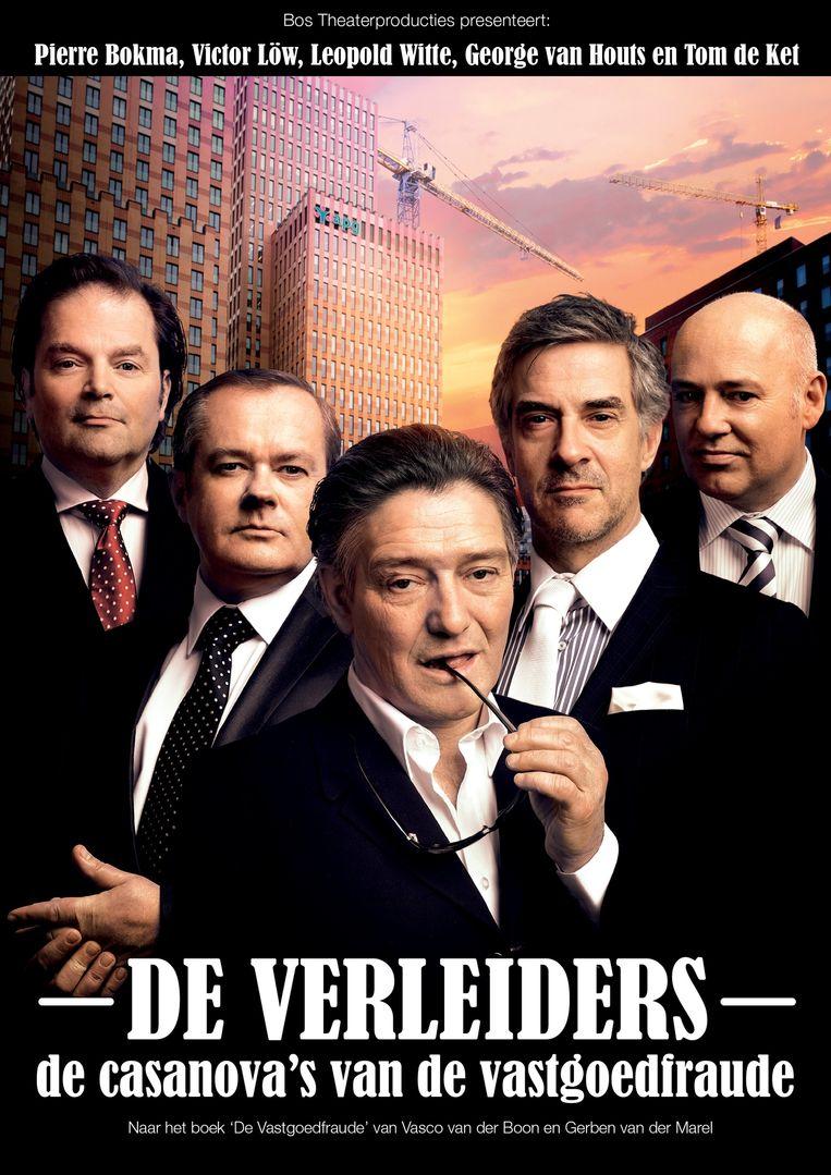 Het bekende toneelstuk De Verleiders, 120 keer opgevoerd, is gebaseerd op de zaak-Klimop. Beeld null
