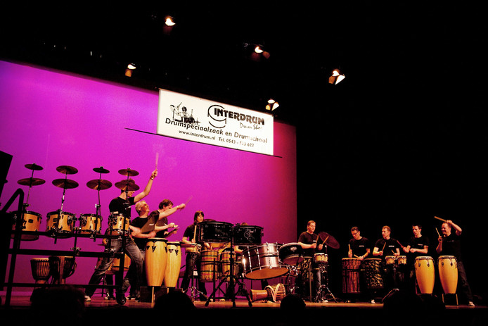 Winterdrums in Theater de Storm
