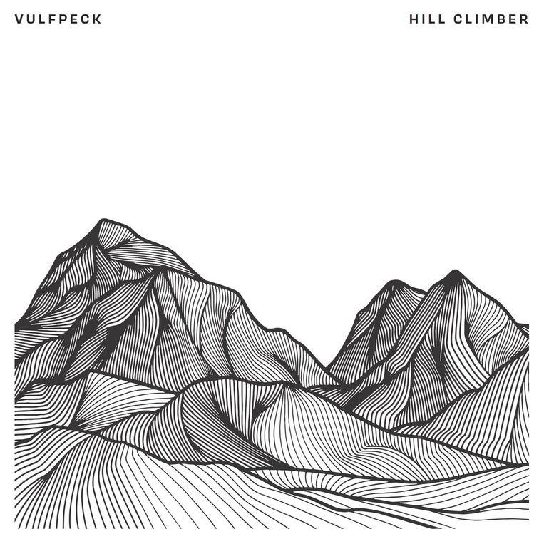 Illustratie van Christa Rijneveld voor het album Hill Climber van de Amerikaanse band Vulfpeck, 2018. Beeld Christa Rijneveld
