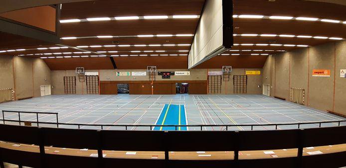 Sporthal de Hongerman in Nuenen stamt uit 1976 en is versleten.
