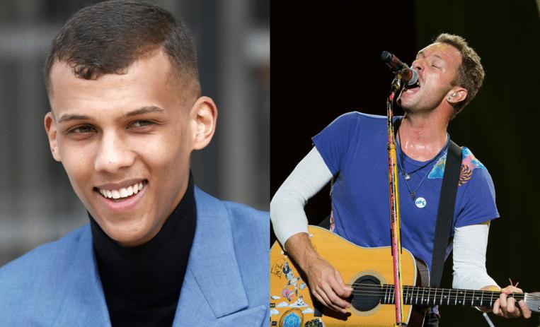 Coldplay brengt morgen een nieuw album uit en vroeg Stromae mee te zingen. Beeld EPA