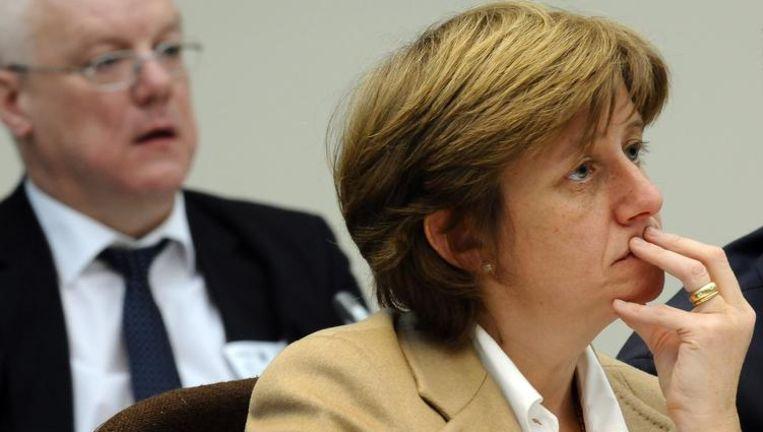 De federale regering gunt de Electrabeltop prestigieuze bijbanen. Directeur generaal Sophie Dutordoir zetelt als onafhankelijk bestuurder in de raad van bestuur van BNP Paribas Fortis, de bank waar de overheid een belangrijke aandeelhouder van is. Beeld BELGA