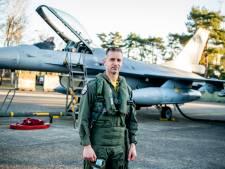 Un pilote belge entre dans le club (très) fermé des 5.000 heures de vol en F-16