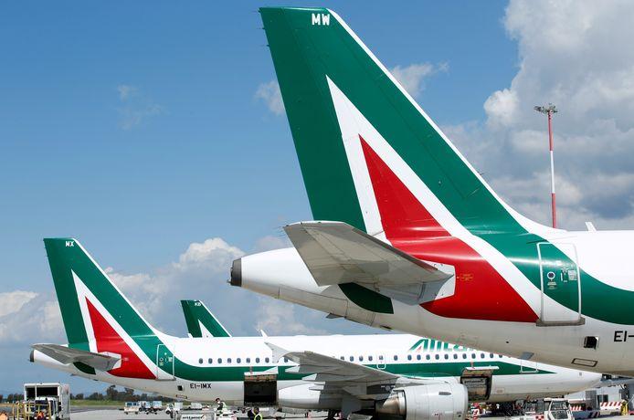 Des avions Alitalia
