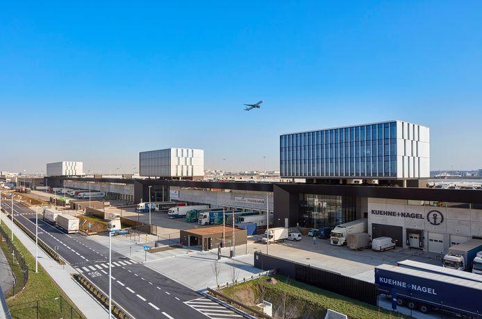 Het nieuwe gebouw op Brucargo is 50.000 vierkante meter groot.