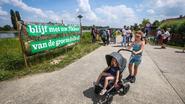 300 wandelaars voor behoud Groene Delle