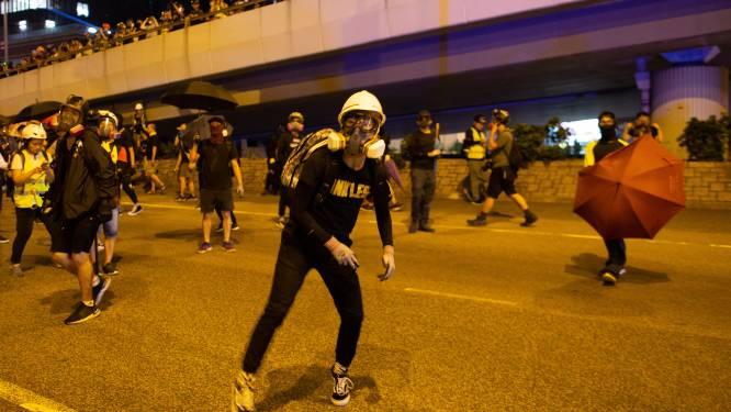 """Rellen in Hongkong op vijfde verjaardag """"paraplubeweging"""""""