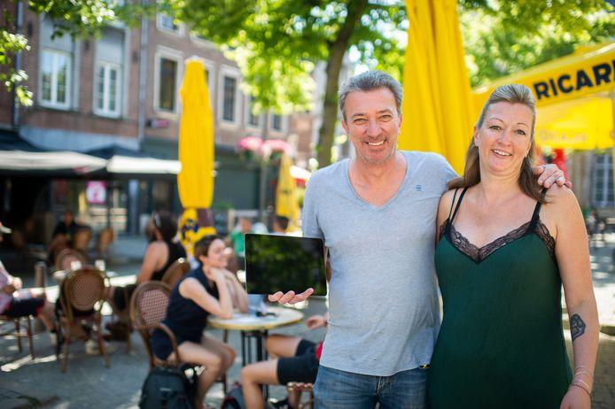 Christopher Van Loo en Stephanie Stokhuyzen van cafés Corso en Atlas.