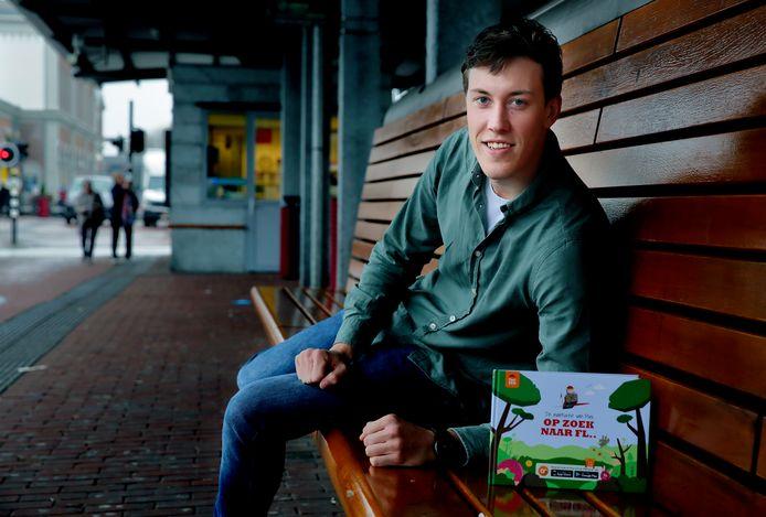 Sem Broere maakte samen met twee studiegenoten het boek 'Op zoek naar Fl..'