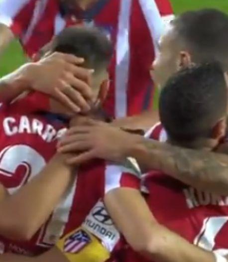 Sixième victoire d'affilée pour Carrasco et l'Atlético