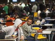 Eerste vluchtelingen aangekomen in Utrecht
