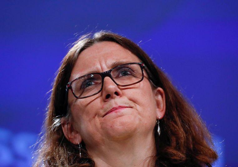Cecilia Malmström Beeld Reuters