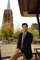 2014. Joerie Minses, de nieuwe burgemeester van Alphen-Chaam.