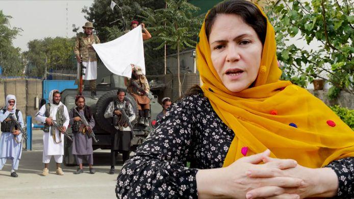 Fawzia Koofi, vrouwenrechtenactiviste en ex-parlementslid.