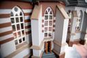 De Schildkerk heeft een rijke historie en juist daarom vond Zwoferink de miniatuurbouw een uitdaging.