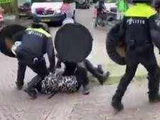 Man wordt door ME geslagen in Wageningen, filmpje al meer dan miljoen keer bekeken op Dumpert