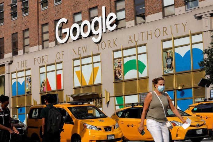 Het kantoor van Google in Manhattan.