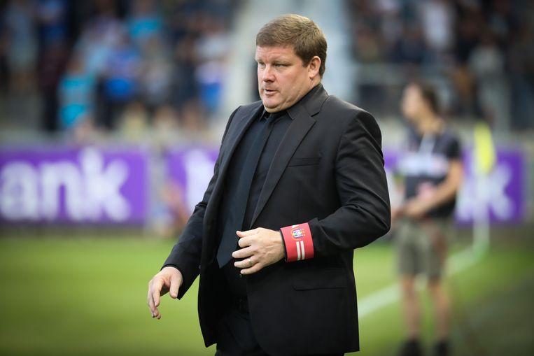 Anderlechttrainer Hein Vanhaezebrouck. Beeld BELGA