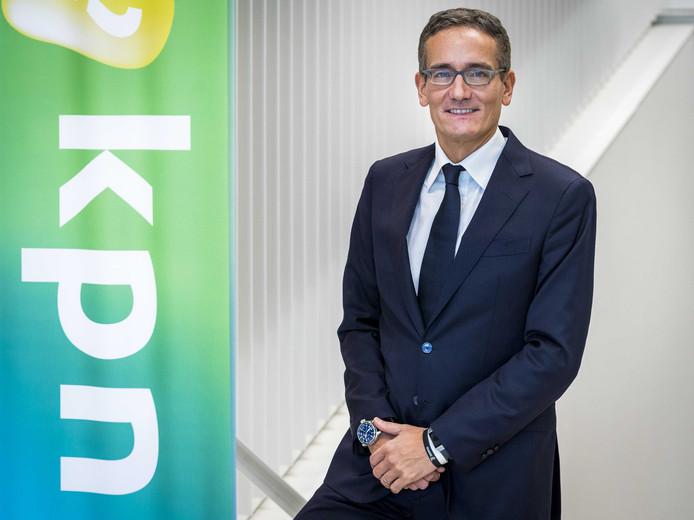 KPN-topman Maximo Ibarra