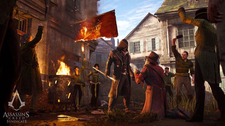 In het Londen van 1868 kan de speler zijn gang gaan. Beeld © ubisoft