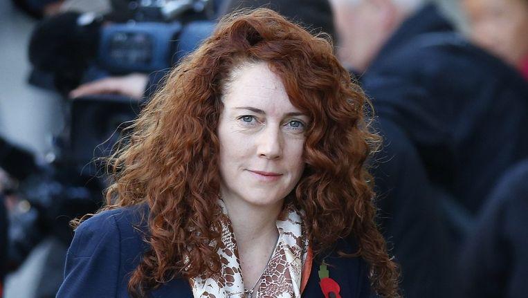 Rebekah Brooks zou haar assistent zeven dozen vol notitieblokken hebben laten afvoeren om te voorkomen dat de politie ze zou kunnen inzien Beeld reuters