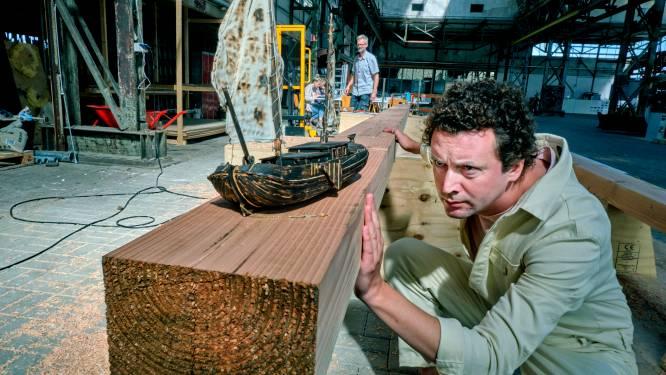 Nieuwsgierig geworden? Het omstreden 'rivier boot stad' schip in Dordrecht is alvast te bezoeken