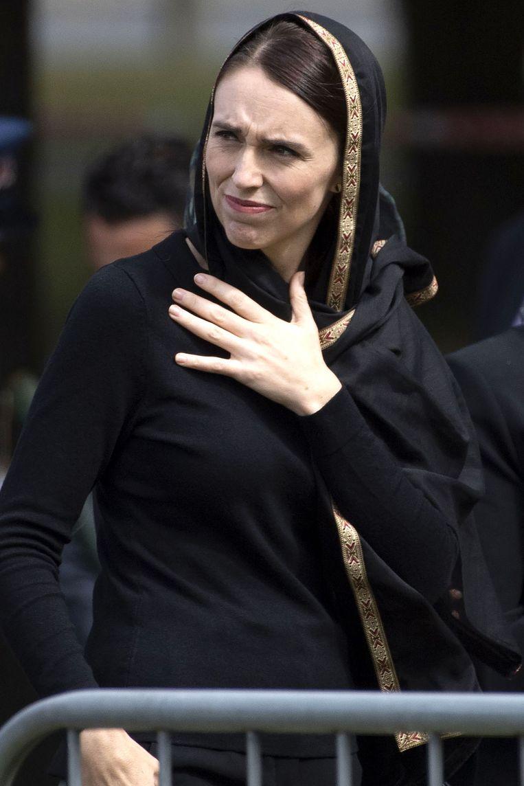 Jacinda Ardern, premier van Nieuw-Zeeland. Beeld AFP