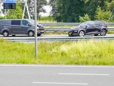 Botsing op A2 bij Best, snelweg weer open