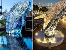 Van Utrechtse singel naar Singapore en nu door naar Shanghai: 'onze' walvis vaart wel in Azië