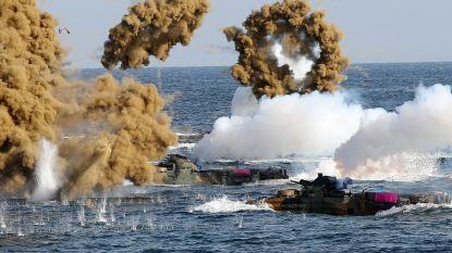 Zuid-Korea en VS hervatten opgeschorte militaire oefeningen