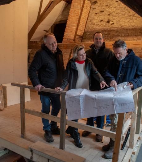 De Zwaan in Andel krijgt nieuw leven: met hart en ziel werken aan restauratie oude veerhuis