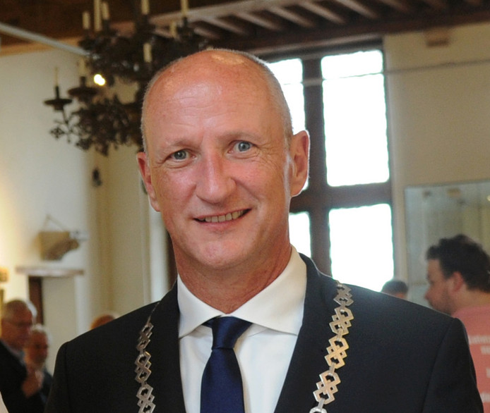 Burgemeester Rob van der Zwaag.