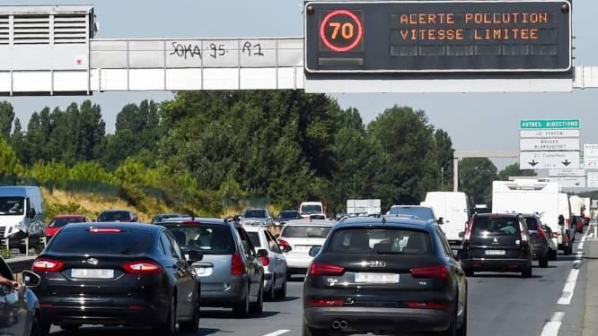 Europese wegen kleuren zaterdag rood: nu al extra hinder door wateroverlast