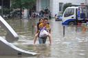 Beelden uit het zwaar getroffen Zhengzhou.