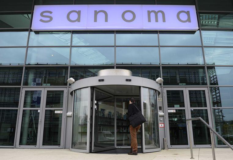 Het hoofdkantoor van Sanoma Beeld ANP XTRA