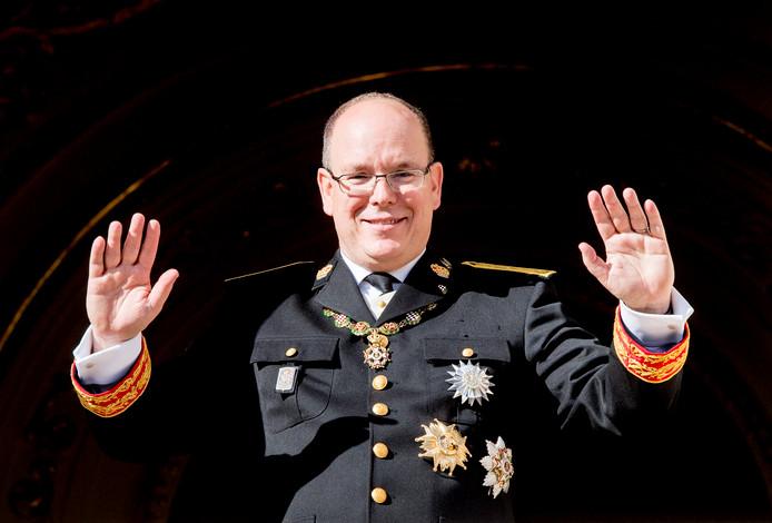 Prins Albert II van Monaco.