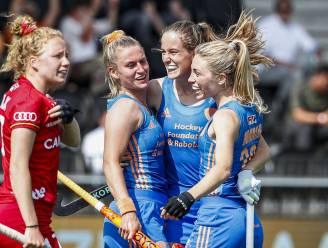 Red Panthers kunnen niet stunten en verliezen halve finale tegen Nederland