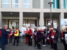 Opnieuw demonstreren tolken in Arnhem: 'Tarieven moeten omhoog'