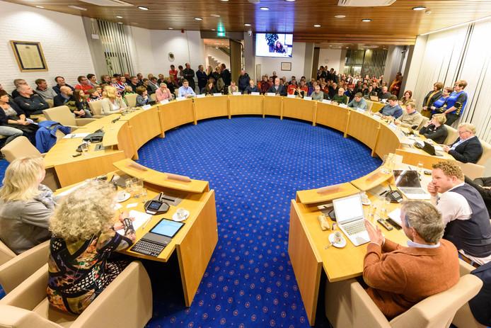 De gemeenteraad van Tubbergen, waarin Dorpen Centraal momenteel één zetel heeft.