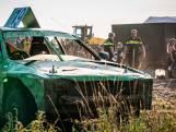 Chaos op Kempencross: auto rijdt op publiek in