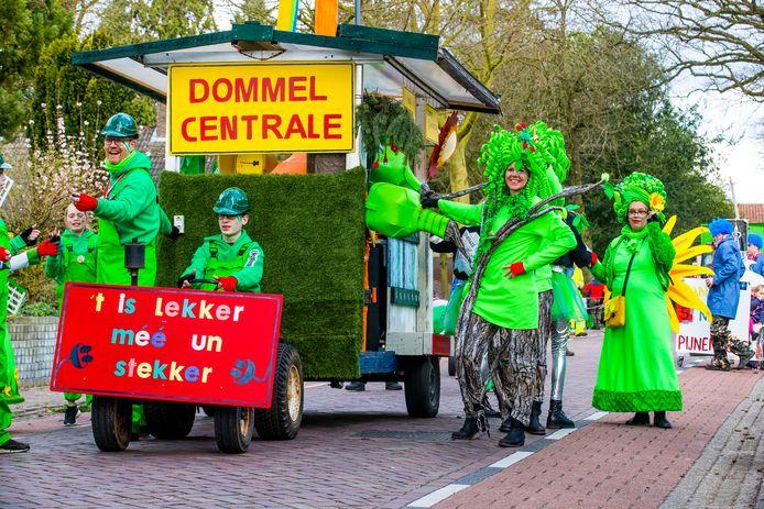 Carnavalsoptocht van 2020 in Borkel en Schaft.