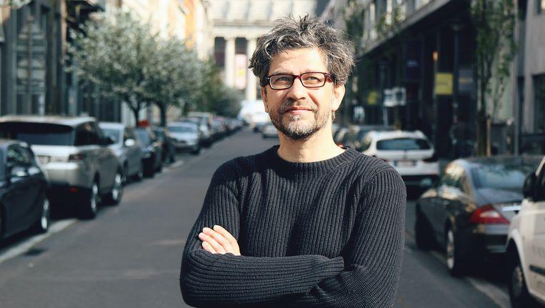In 'Winteruur' met Wim Helsen mag een gast 10 minuten lang over zijn favoriete tekstfragment spreken. Beeld VRT Panenka tv