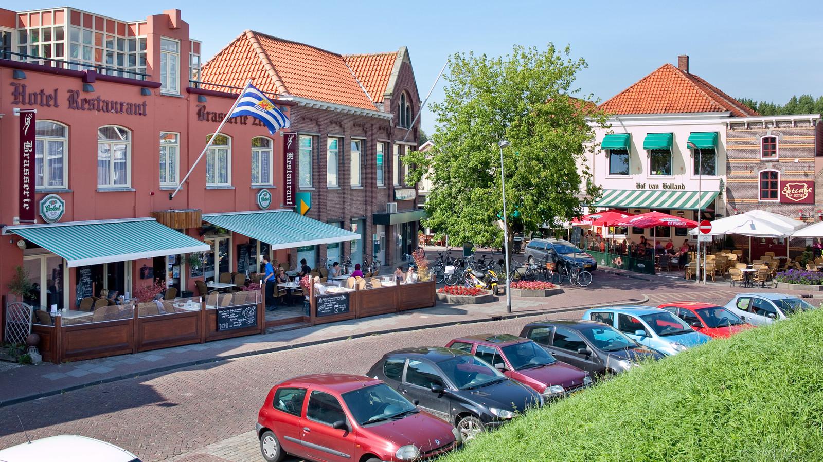 Hotel Zeeland in Tholen. Archieffoto.