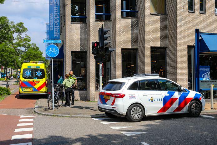 Botsing fietsers kruispunt Apeldoorn