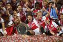 Ajax veroverde afgelopen seizoen de landstitel.