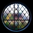De stijl van architect Aart Nieuwpoort kenmerkt zich door ronde ramen, glas in lood en de jaren dertig stijl.