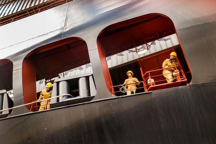 Bemanning van een containerschip: ,,Zeevarenden vormen een onzichtbare groep.''