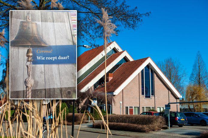 De folder van de Gereformeerde Gemeente in Nederland, verspreid door vrijwilligers van de Rehobothkerk in Gouda. Vijftienduizend huishoudens kregen de folder door de brievenbus.